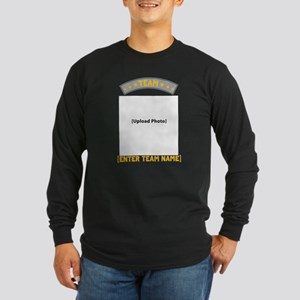Team [photo] Long Sleeve Dark T-Shirt